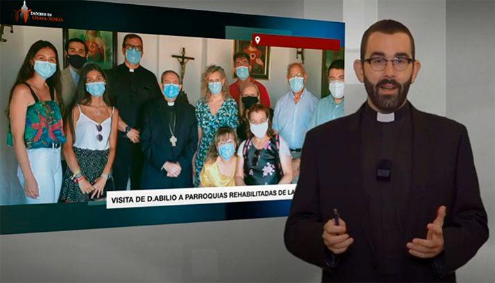Una imagen del vídeo diocesano correspondiente a agosto. /DOS