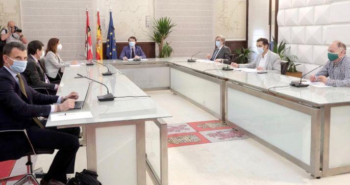 Reunión del Diálogo Social en junio. /Jta.