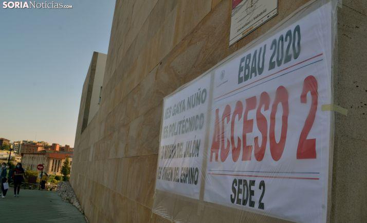Foto 1 - 18 de los 20 presentados a la EBAU de septiembre aprueban el examen en Soria