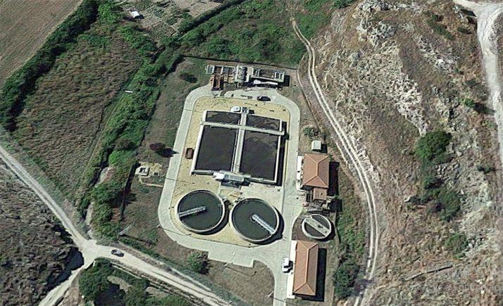 Imagen de la EDAR ubicada en Ágreda, que da servicio también a Ólvega. /GM