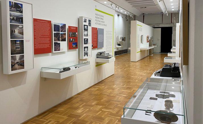 Una imagen de la muestra sobre el centenario del museo. /Jta.