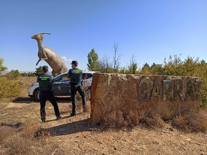 Foto 1 - Detenidas tres personas en Garray por 14 delitos de daños y uno de amenazas