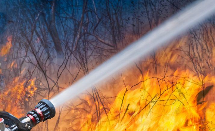 Foto 1 - Incendios en Alcubilla del Marqués y en Cardejón