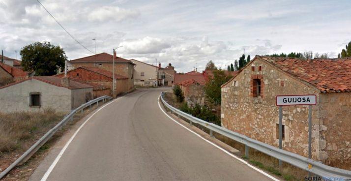 Imagen de la entrada a Guijosa.