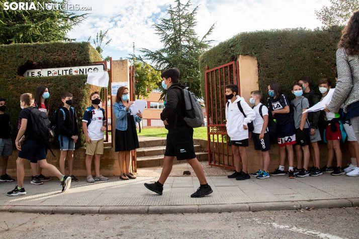 La vuelta al cole en Soria, en imágenes