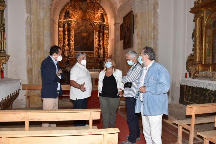 Foto 2 - Concluye la restauración de la galería porticada de la iglesia de San Pedro, en Caracena