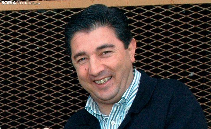 Jesús Ángel Peregrina, alcalde de Arcos de Jalón.