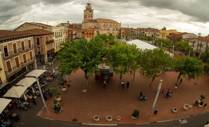 Una imagen de Medina del Campo.