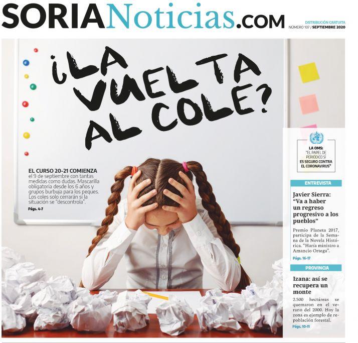 Portada del número 107 de Soria Noticias.