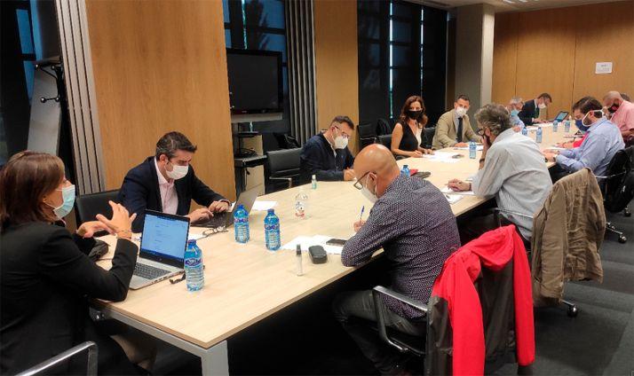 Reunión de la Comisión Permanente del Diálogo Social. /Jta
