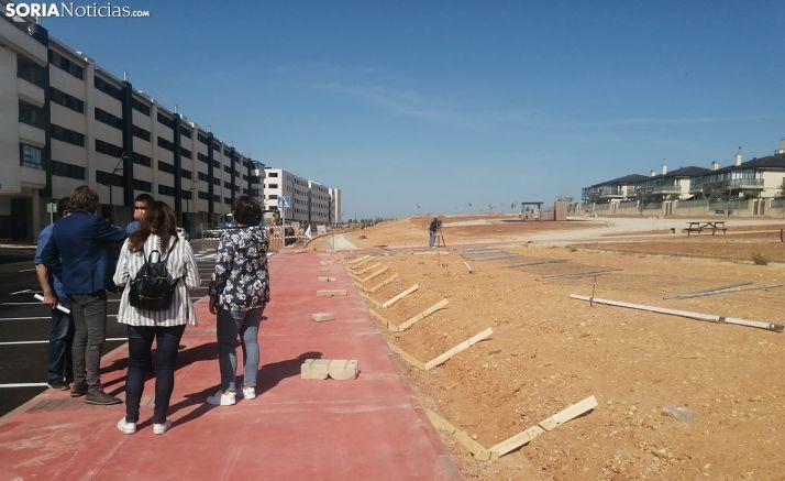 Una imagen de la zona en la que está actuando el Ayuntamiento. /SN