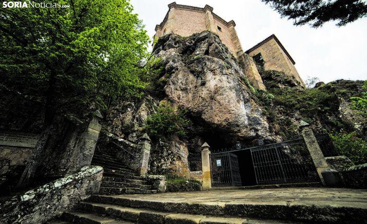 Ermita de San Saturio, en la capital soriana. /SN