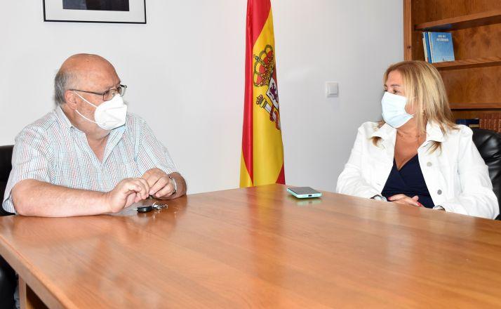 Yolanda de Gregorio y Amancio Martínez. /Jta.