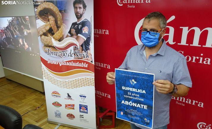 El presidente, Alfredo Cabrerizo, en la presentación de la campaña. /SN