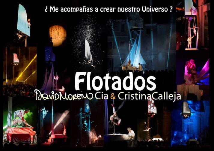 Foto 1 - El sorprendente espectáculo 'Flotados', a las 22:00 horas en la plaza Mariano Granados