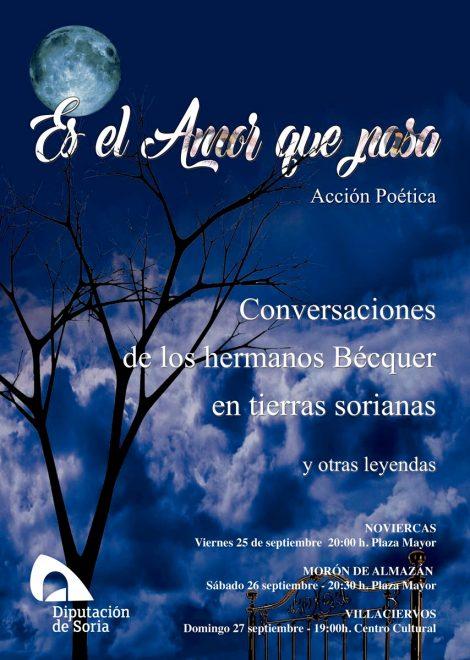 Foto 1 - Teatro homenaje a los hemanos Bécquer este fin de semana: 'Es el amor que pasa'
