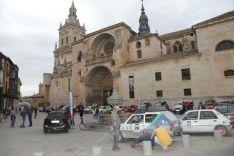Llegada de la Iberian Classic Raid a El Burgo.