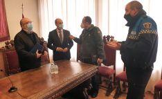 Una imagen de la Junta de Seguridad de Ágreda en la que ha sido suscrito el convenio. /SdG