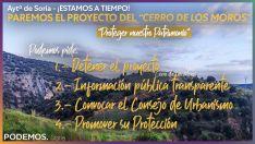 Foto 2 - Podemos pide 'congelar' los trámites urbanísticos del Cerro de los Moros
