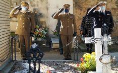 Una imagen del acto solemne de este viernes en El Espino. /SdD
