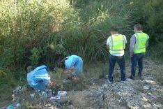 Imágenes de las investigaciones en el Río Duero. /GC