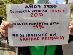 La provincia de Soria se concentra por la Sanidad.