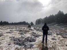La Laguna Negra de Soria nevada