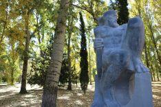Foto 5 - Las obras del V Simposium de Escultura de Almazán estrenan ubicaciones