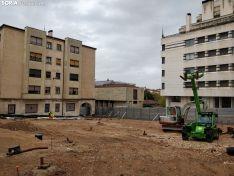Foto 2 - Soria contará con una nueva plaza de más de 1200 metros cuadrados para la primavera