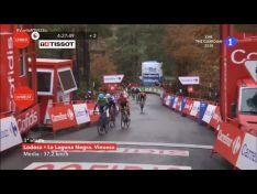 Vuelta a España: Dan Martin gana en Soria en la inédita subida a la Laguna Negra