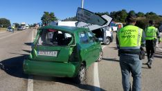 ACTUALIZACIÓN: Fallece una vecina de Madrid en un accidente de tráfico ocurrido en el cruce de B