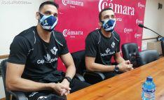 Los brasileños Mario Dos Santos e Ígor Silva, las dos últimas incorporaciones esta semana para el Río Duero. /SN