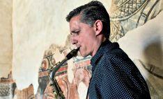 Norberto Francisco en uno de sus conciertos. /NF
