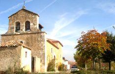 Iglesia parroquial de la localidad, con la espadaña en primer término. /Amigos de Santervás