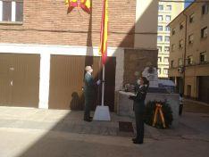 Celebración de la Virgen del Pilar en Soria.