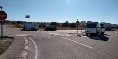 Foto 6 - ACTUALIZACIÓN: Fallece una vecina de Madrid en un accidente de tráfico ocurrido en el cruce de Berlanga de Duero