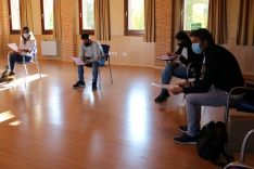 Profesores de la Escuela de Música adnamantina. /AA