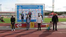 Foto 5 - Sara Loher y Pello Osoro, campeones de España de Duatlón MD