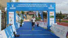 Foto 4 - Sara Loher y Pello Osoro, campeones de España de Duatlón MD