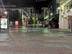Soria cumple el toque de queda y a las 22:00 horas Soria se vacía