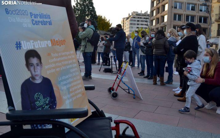 En estos tiempos de pandemia, Aspace Soria clama por 'un futuro mejor'