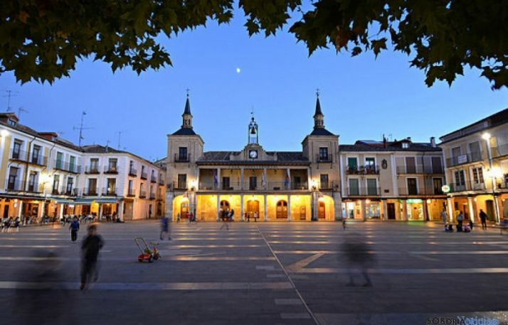 Plaza Mayor de El Burgo.