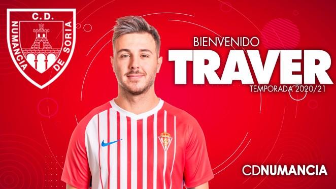 Ávaro Traver llega al Numancia.
