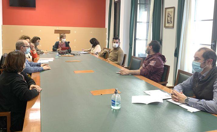 Reunión entre Ayuntamiento y Asohtur este miércoles. /Ayto.