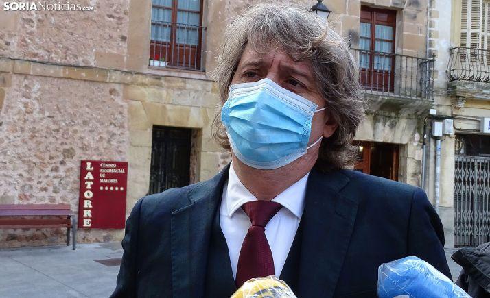 El alcalde, Carlos Martínez Mínguez. /SN