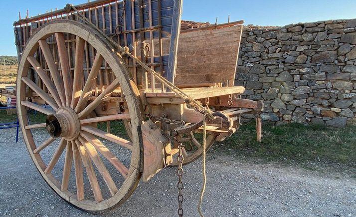 Un carro tradicional de la provincia de Soria.