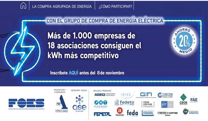 Foto 1 - FOES vuelve a lanzar una compra agrupada de energía junto a otras 17 patronales del centro y norte de España