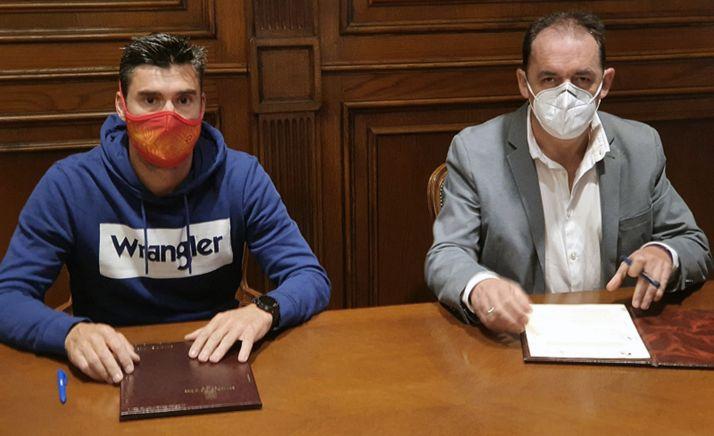 Rubén Andrés y Benito Serrano. /Dip.