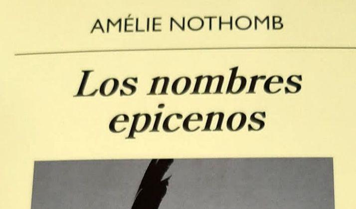 Foto 1 - La autora Amélie Nothomb, a debate este martes en el Amistad-Numancia
