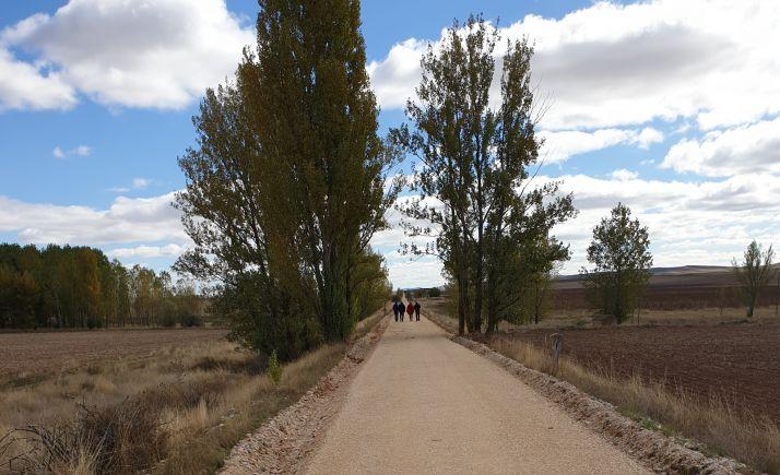 Imagen del tramo entre Valcorba y Ciria.